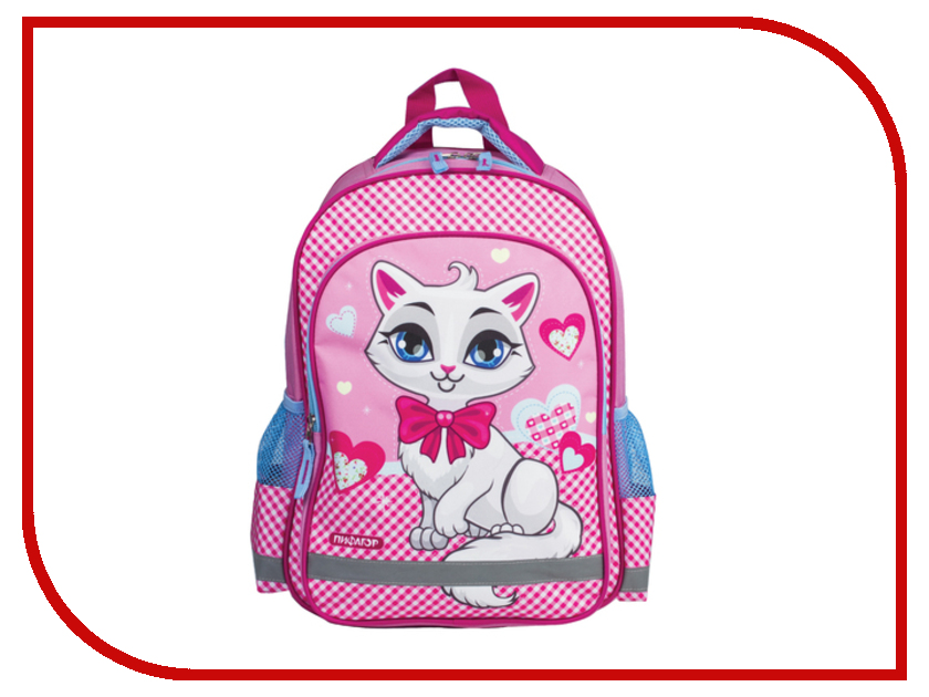 Рюкзак Пифагор Белая кошка 226889