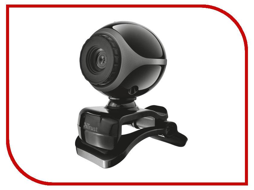 Вебкамера Trust Exis Webcam Black-Silver