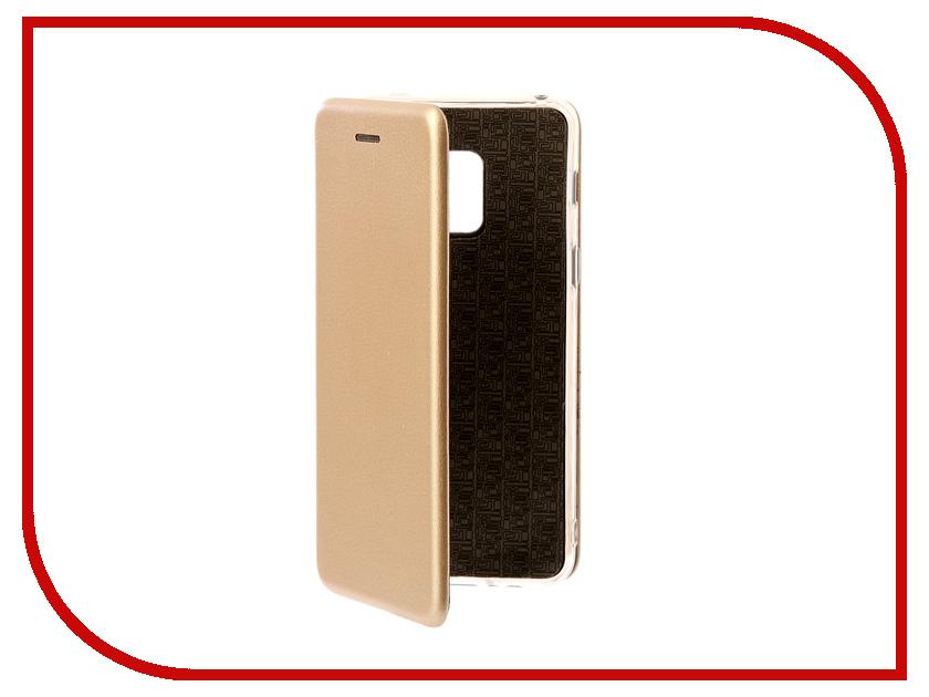 Аксессуар Чехол для Samsung Galaxy A8 A530F 2018 Zibelino Book Gold ZB-SAM-A530-GLD аксессуар чехол для samsung galaxy a8 2018 a530f zibelino ultra thin case white zutc sam a530f wht