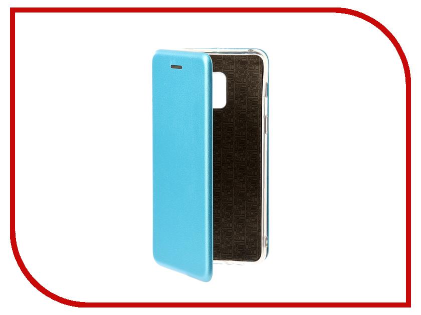 Аксессуар Чехол Samsung Galaxy A8 A530F 2018 Zibelino Book Blue ZB-SAM-A530-BLUE аксессуар чехол флип dexp ixion es150 blue