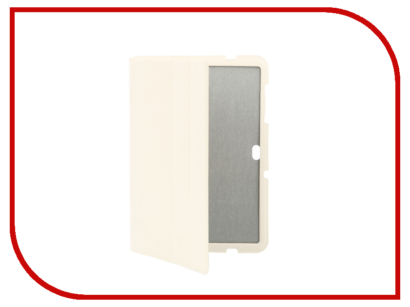 Аксессуар Чехол для Samsung P7500 / 7510 Galaxy TAB 10.1 Krutoff Clever Case White 21560 планшеты samsung tab