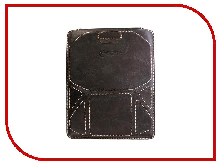 Аксессуар Чехол Krutoff Clever Case Wild Series для iPad2 Black 10192