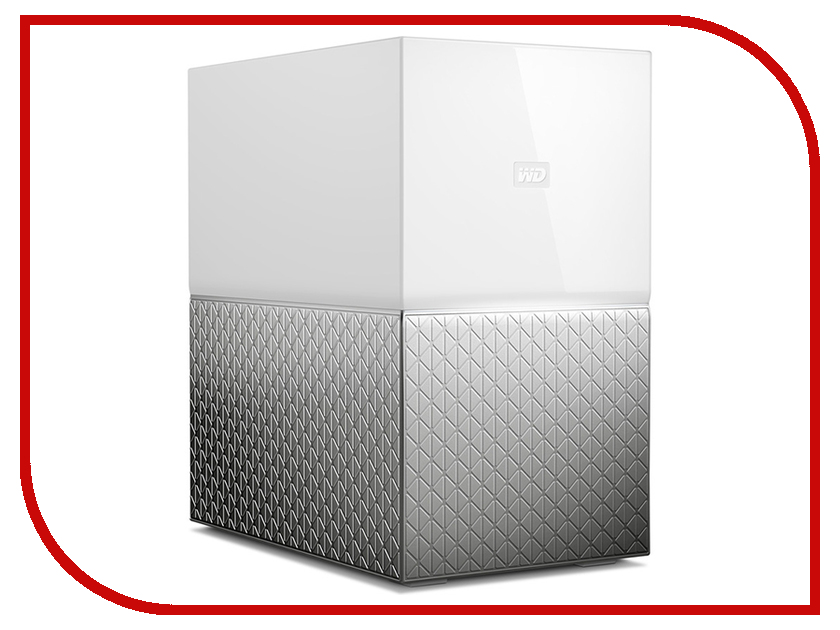 Сетевое хранилище Western Digital My Cloud Home Duo 8Tb WDBMUT0080JWT-EESN сетевое хранилище western digital my cloud home 4tb wdbvxc0040hwt eesn