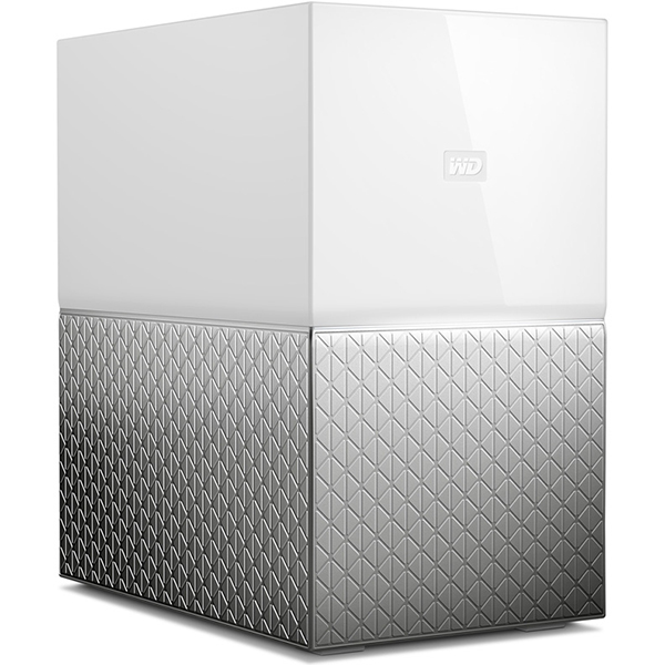 Сетевое хранилище Western Digital My Cloud Home Duo 8Tb WDBMUT0080JWT-EESN
