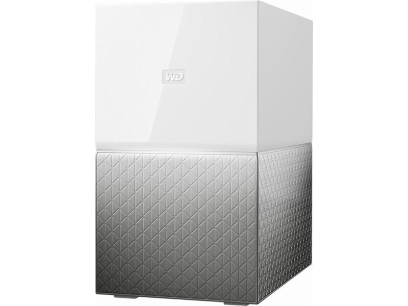 Сетевое хранилище Western Digital My Cloud Home Duo 6Tb WDBMUT0060JWT-EESN