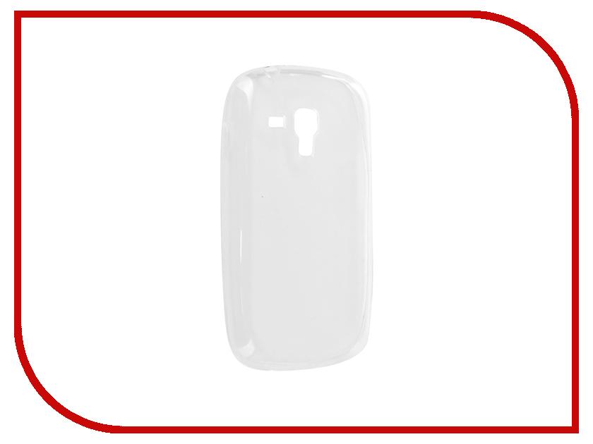 Аксессуар Чехол Samsung GT-S7562 Galaxy S Duos Krutoff Transparent 11740 samsung galaxy s iii duos i9300i в гомеле