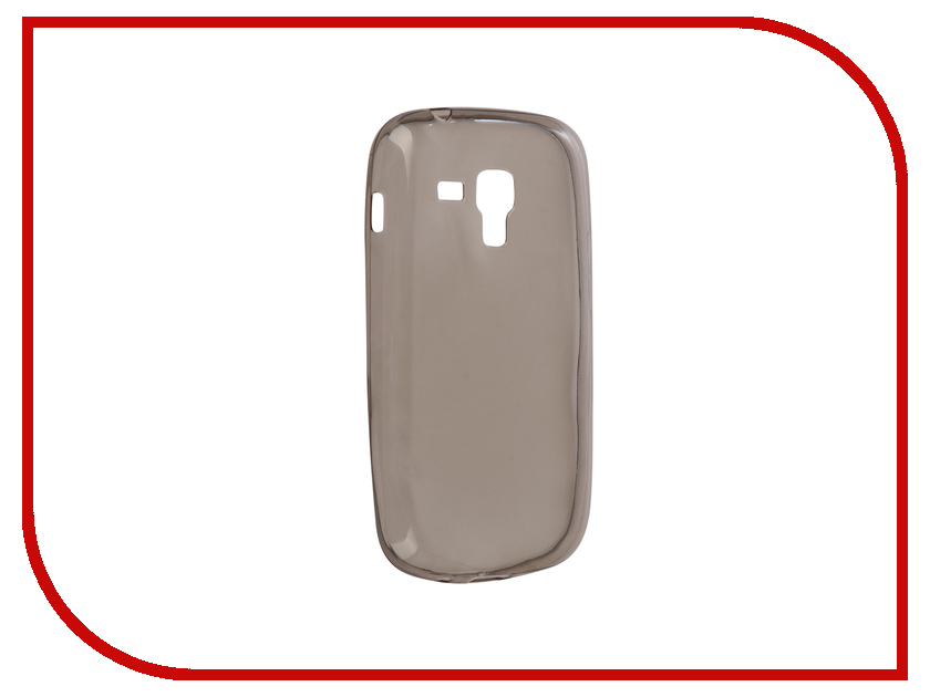 Аксессуар Чехол Samsung GT-S7562 Galaxy S Duos Krutoff Transparent Black 11741 samsung galaxy s4 mini duos в санкт петербурге