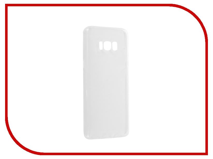 все цены на Аксессуар Чехол Samsung Galaxy S8+ Krutoff Transparent 11619 онлайн
