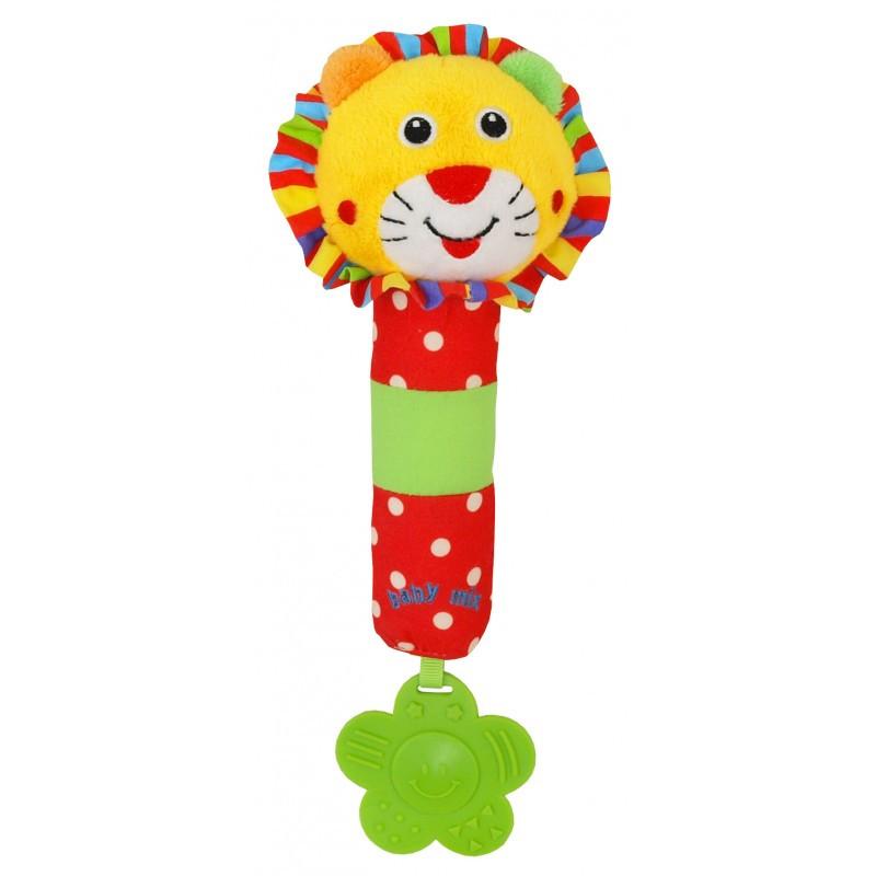 Погремушка Baby Mix Lion 8377B-26L