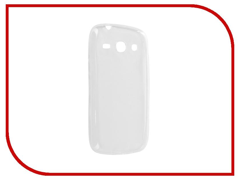 Аксессуар Чехол для SM-G350E Galaxy Advance Krutoff Transparent 11471