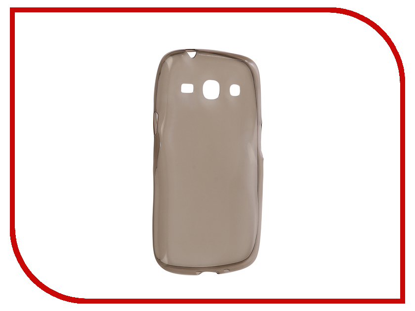 Аксессуар Чехол для SM-G350E Galaxy Advance Krutoff Transparent Black 11472