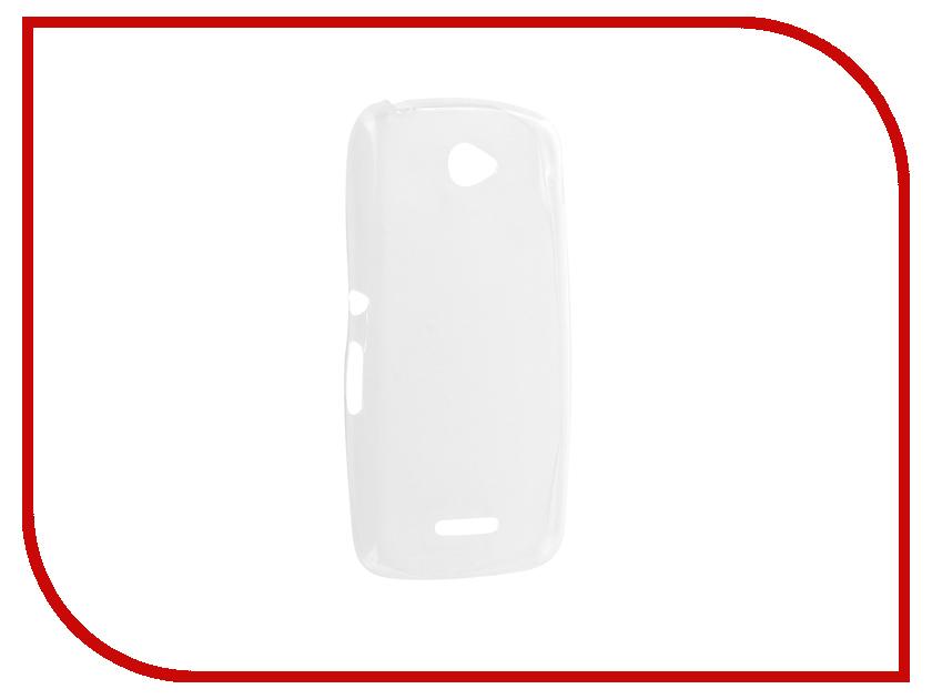 цена на Аксессуар Чехол Sony Xperia E4 Krutoff Transparent 11531
