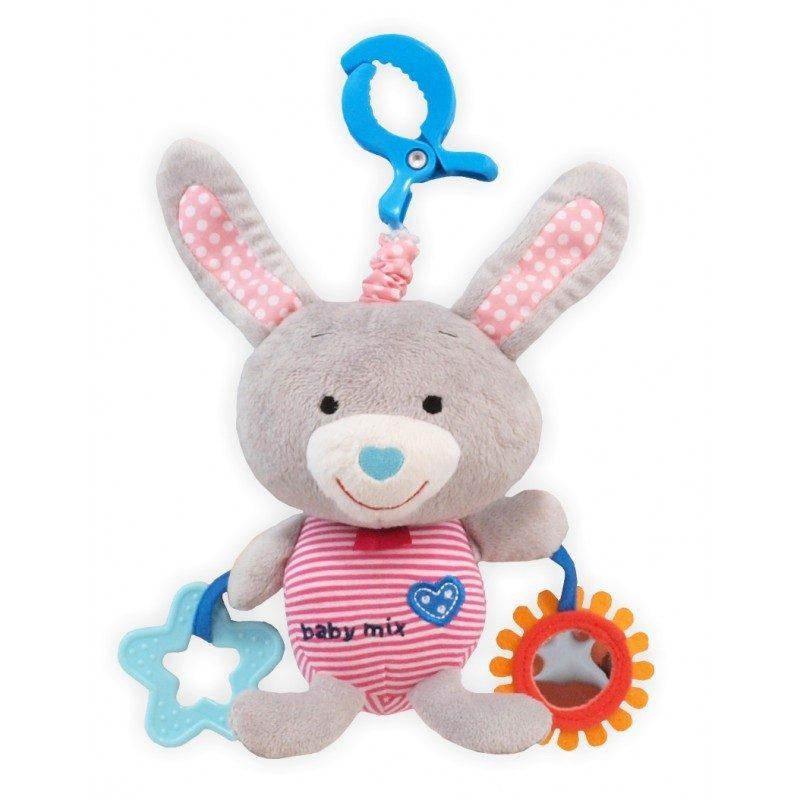 Игрушка Baby Mix Зайчик Gray 1127 игрушка baby mix собачка 1122