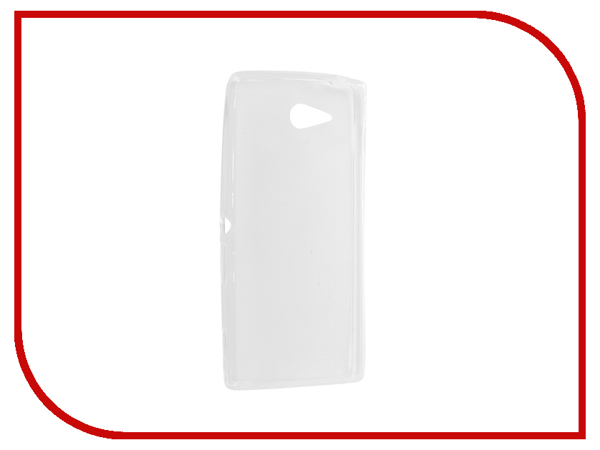 Аксессуар Чехол Sony Xperia M2 Krutoff Transparent 11533 high quality for sony xperia m2 aqua