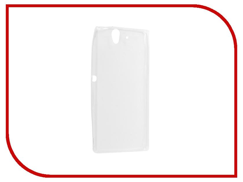 Аксессуар Чехол для Sony Xperia Z Krutoff Transparent 11541