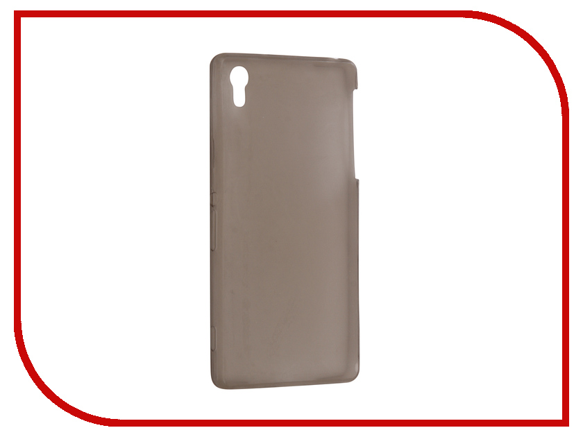 цена на Аксессуар Чехол Sony Xperia Z2 Krutoff Transparent Black 11550