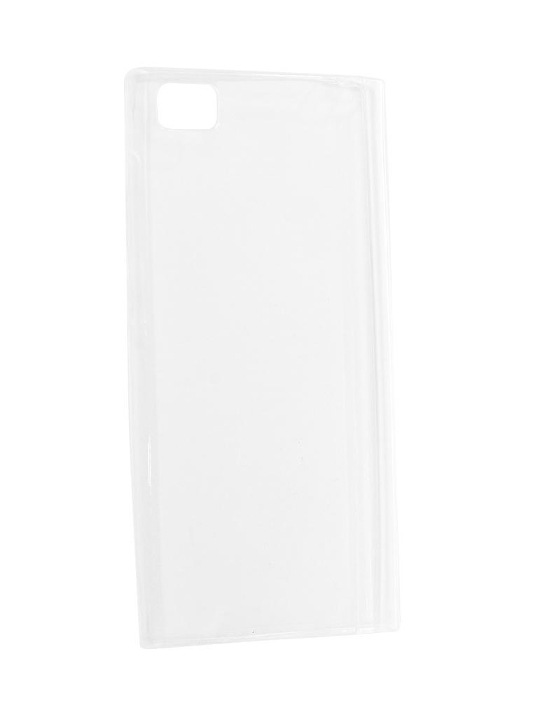 Аксессуар Чехол Krutoff для Xiaomi Mi3 Transparent 10284