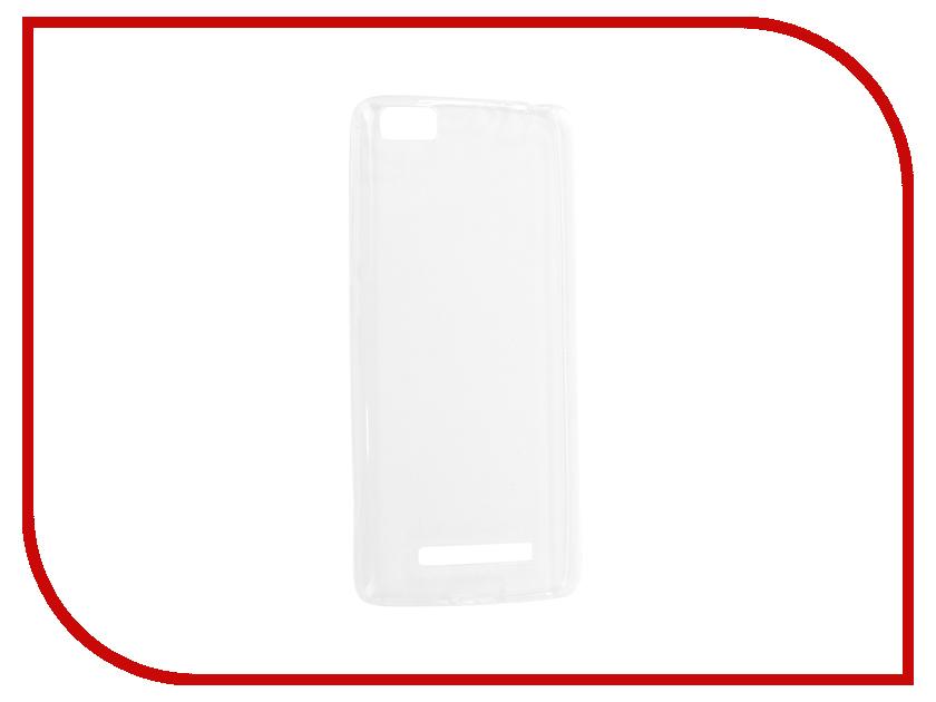 Аксессуар Чехол Xiaomi Mi4c Krutoff Transparent 11780 аккумулятор xiaomi mi4c mi4c dual sim 3080mah