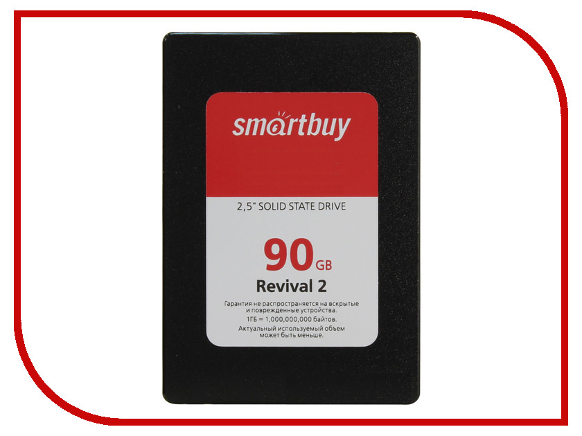 внутренние HDD/SSD Revival 2 SB090GB-RVVL2-25SAT3  Жесткий диск 90Gb - SmartBuy Revival 2 SB090GB-RVVL2-25SAT3