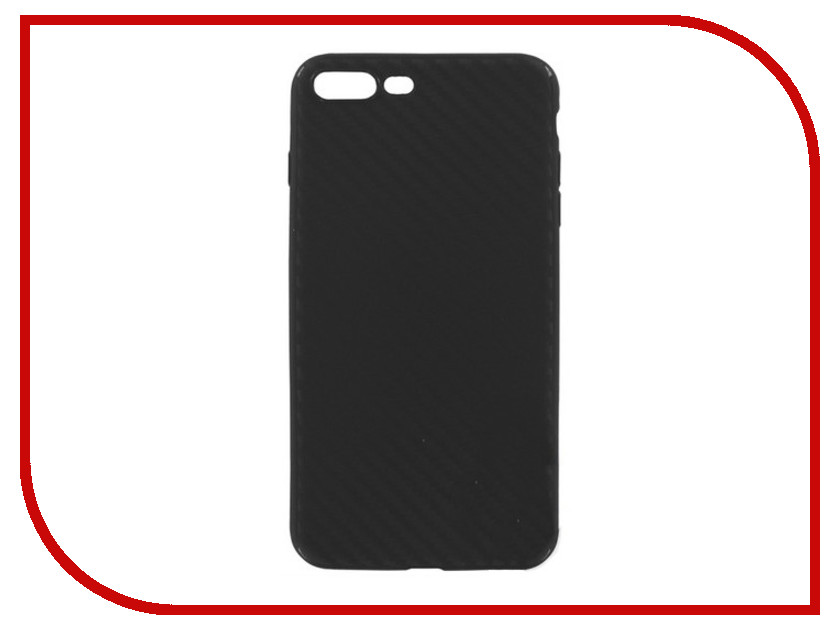 Аксессуар Чехол для APPLE iPhone 7 Plus Krutoff Black Carbon 11847