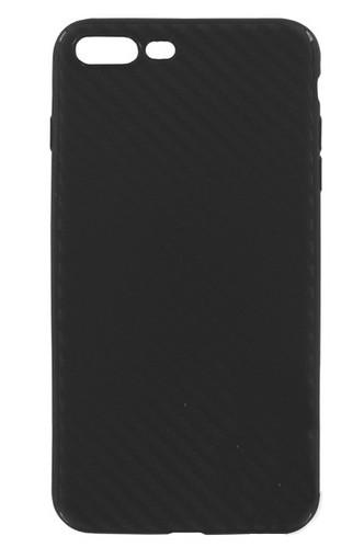 Аксессуар Чехол Krutoff для APPLE iPhone 7 Plus Black Carbon 11847