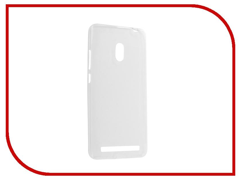 Аксессуар Чехол ASUS ZenFone 6 Krutoff Transparent 10282 аксессуар защитное стекло krutoff front