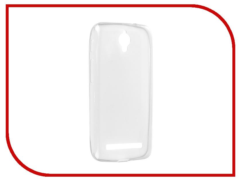 Аксессуар Чехол ASUS ZC451CG ZenFone C Krutoff Transparent 11585 аксессуар чехол накладка asus zenfone c zc451cg cherry red 8268