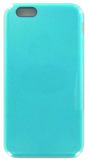 Аксессуар Чехол Krutoff для APPLE iPhone 6 / 6S Silicone Case Sea Blue 10769 цена