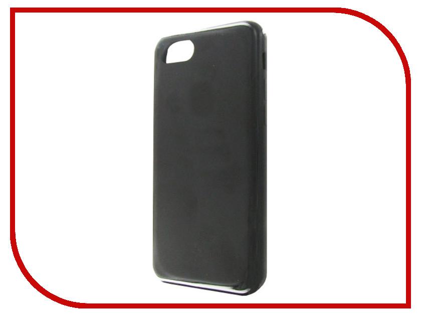Фото - Аксессуар Чехол Krutoff для APPLE iPhone 7 / 8 Silicone Case Charcoal Gray 10745 аксессуар чехол apple iphone x krutoff leather folio charcoal gray 10828