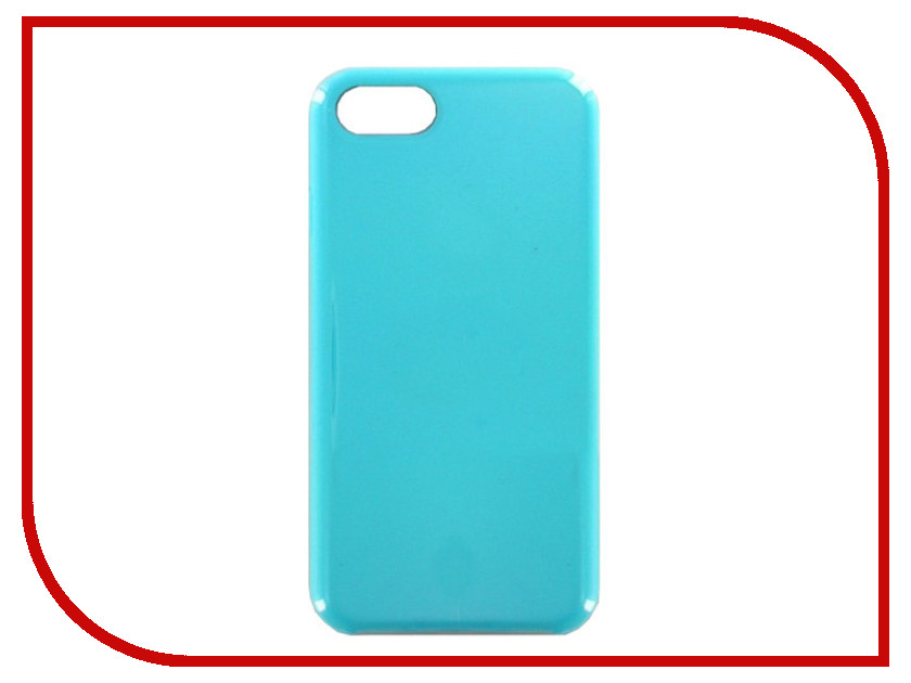 Аксессуар Чехол Krutoff для APPLE iPhone 7 / 8 Silicone Case Sea Blue 10770