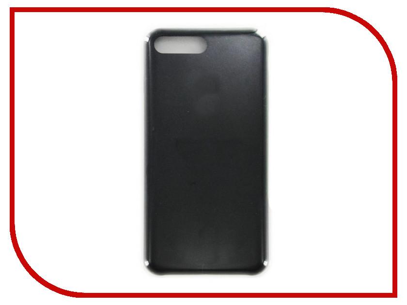 Аксессуар Чехол Krutoff для APPLE iPhone 7 / 8 Plus Silicone Case Black 10783 аксессуар чехол бампер burkley snap on для apple iphone 7 plus black bmcujblrst1i7p