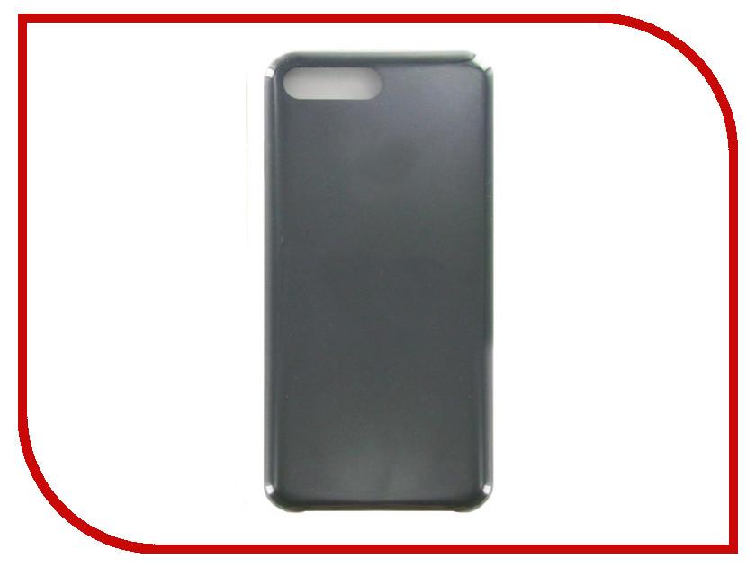 Аксессуар Чехол Krutoff для APPLE iPhone 7 / 8 Plus Silicone Case Charcoal Gray 10787 аксессуар защитное стекло krutoff front