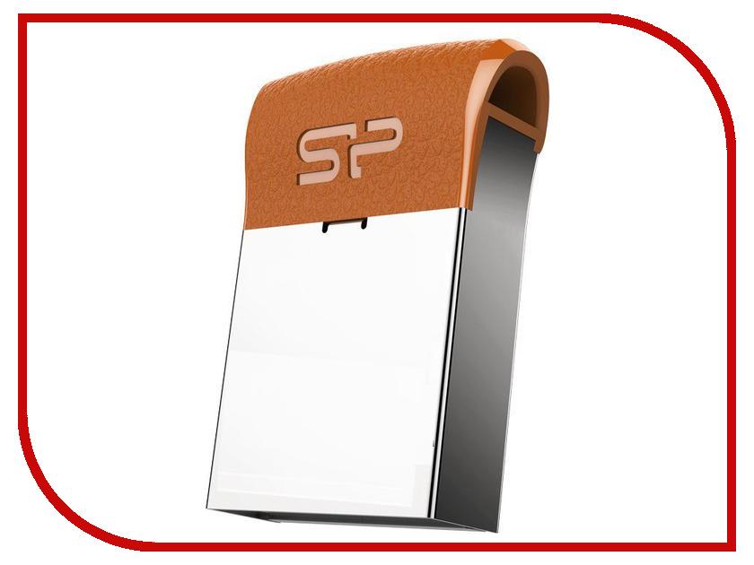 USB Flash Drive 16Gb - Silicon Power Jewel J35 USB 3.1 Brown SP016GBUF3J35V1E инфинити j 35 в г москва