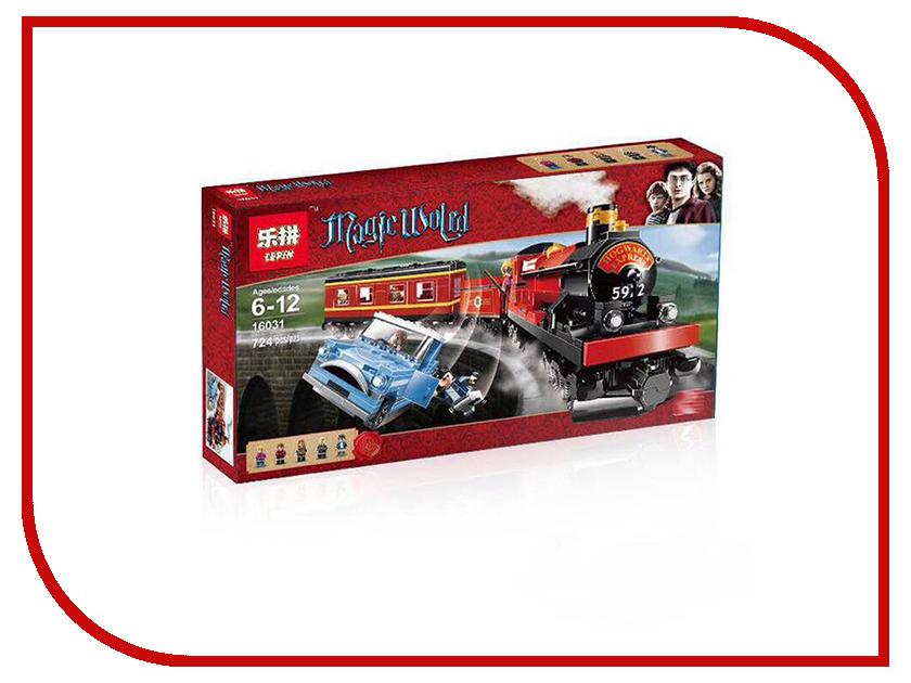 Конструктор Lepin Поезд Хогвартс-экспресс 724 дет. 16031 конструктор деревянный toys lab цирковой поезд