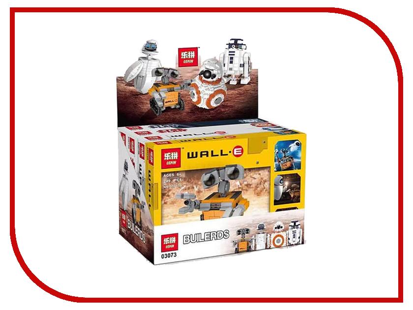 Конструктор Lepin Мини Wall-E Eva BB-8 R2D2 4в1 03073