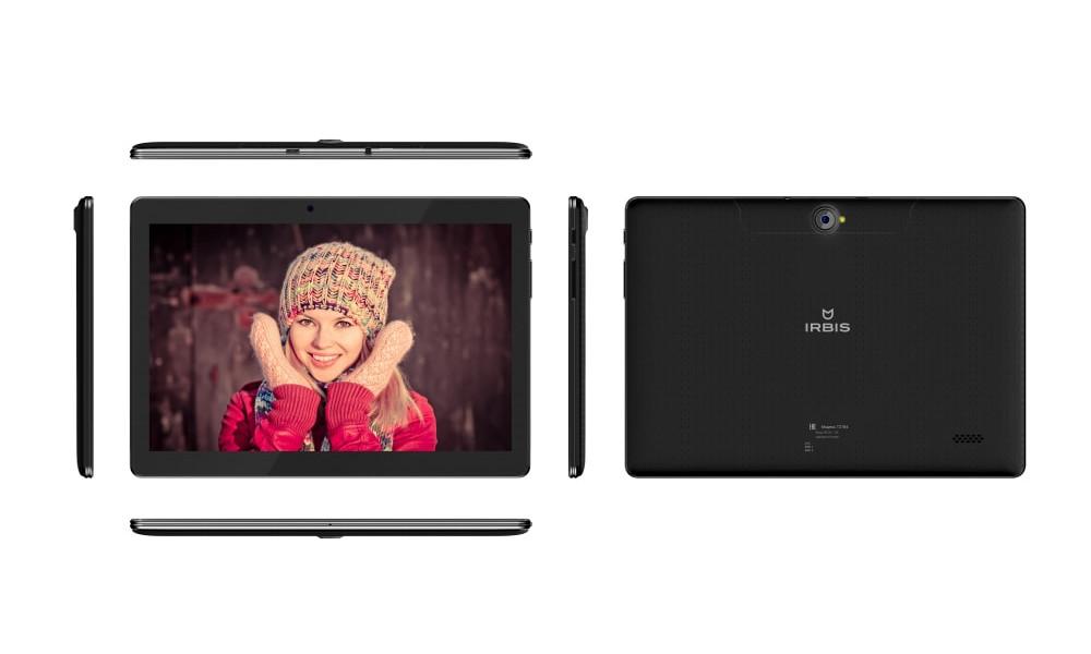 Планшет Irbis TZ184 (SC7731G 1.3 GHz/1024Mb/8Gb/GPS/3G/Wi-Fi/Bluetooth/Cam/10.1/1280x800/Android) планшет irbis tx58 mediatek mt8312 1 2 ghz 1024mb 8gb wi fi 3g bluetooth gps 10 1 1024x600 android