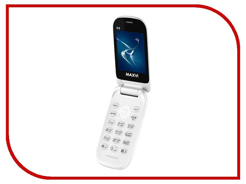 купить Сотовый телефон Maxvi E3 White недорого