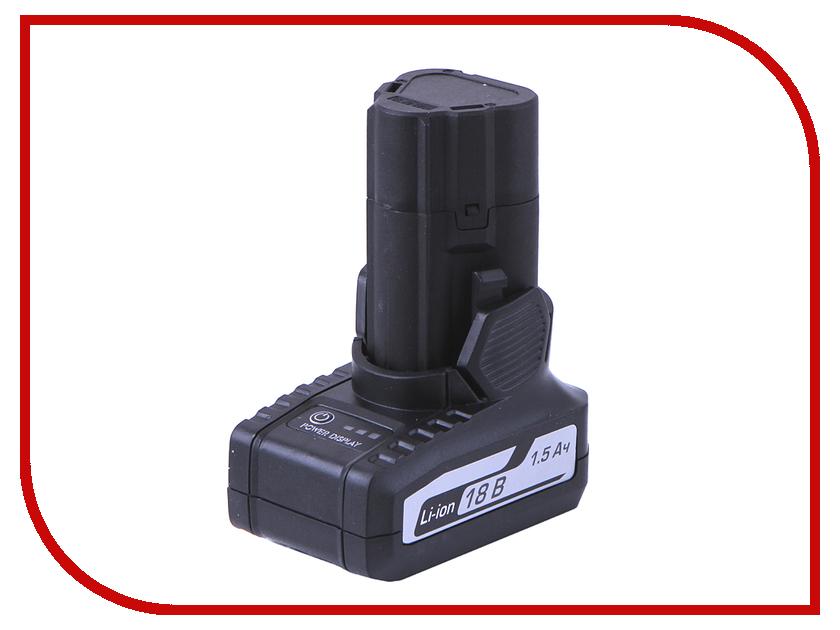 Аккумулятор Интерскол ДА-18ЭР Li-ion 1.5Ah 18V 2400.016 аккумулятор интерскол 18в 1 5ач nicd для да 18эр 45 02 03 00 00