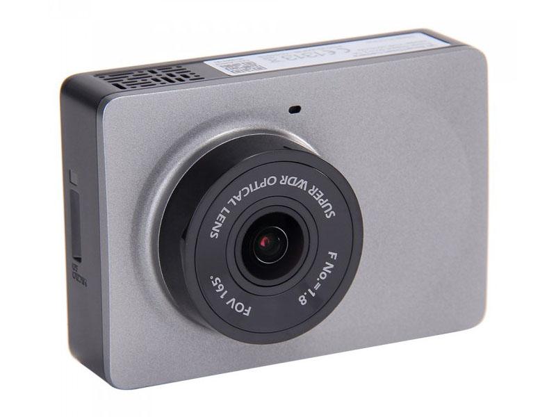 Видеорегистратор Yi WiFi DVR / Smart Dash Camera Grey Выгодный набор + серт. 200Р!!!