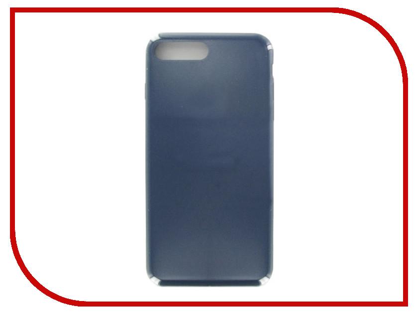 Аксессуар Чехол Krutoff для APPLE iPhone 7 / 8 Plus Silicone Case Ocean Blue 10786 аксессуар чехол elari для elari cardphone и iphone 6 plus blue