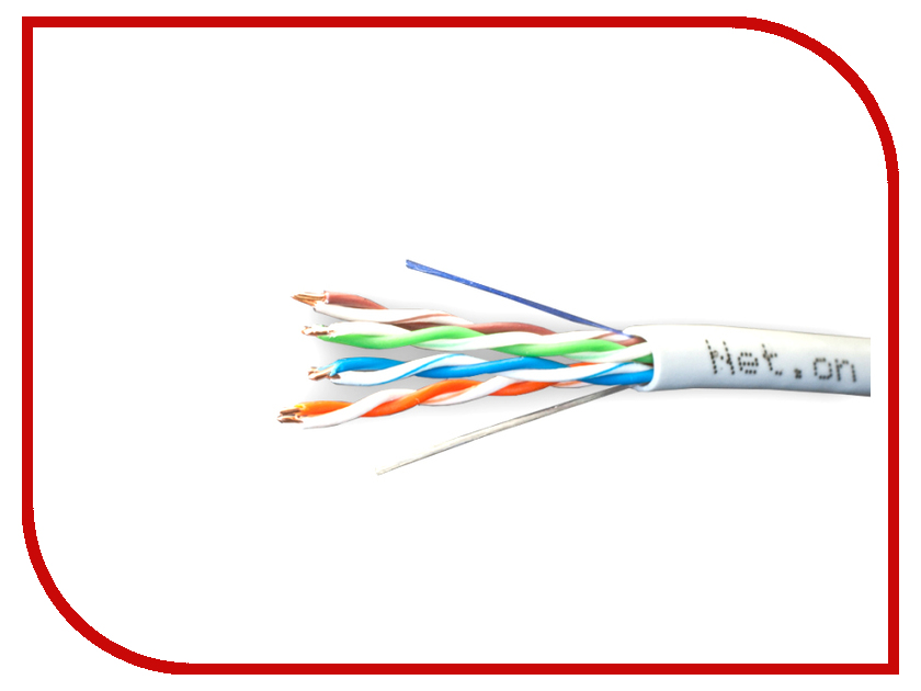 Сетевой кабель Net.on CCA UTP 24 AWG Cat.5e