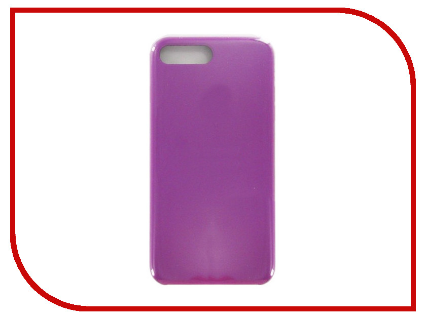 Аксессуар Чехол Krutoff для APPLE iPhone 7 / 8 Plus Silicone Case Purple 10824 airress waterproof case cover for iphone 7 plus