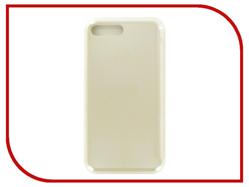 Аксессуар Чехол Krutoff для APPLE iPhone 7 / 8 Plus Silicone Case Stone 10785 аксессуар чехол krutoff для apple iphone 7 8 plus silicone case ocean blue 10786
