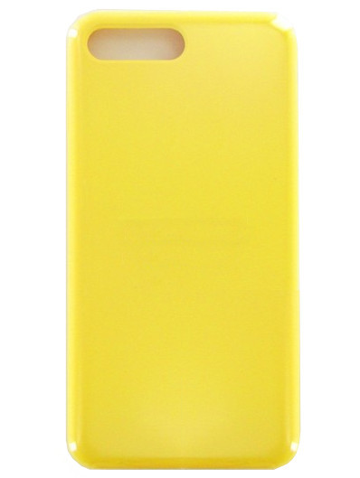 Аксессуар Чехол Krutoff для APPLE iPhone 7 / 8 Plus Silicone Case Yellow 10781 аксессуар чехол krutoff для apple iphone x silicone case white 10799