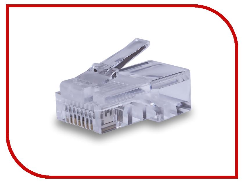 Коннектор SUPRLAN U/UTP Cat.5e RJ-45 8P8C 100шт 10-0209 коннекторы krauler rj 45 cat 5e 8p8c 100 шт