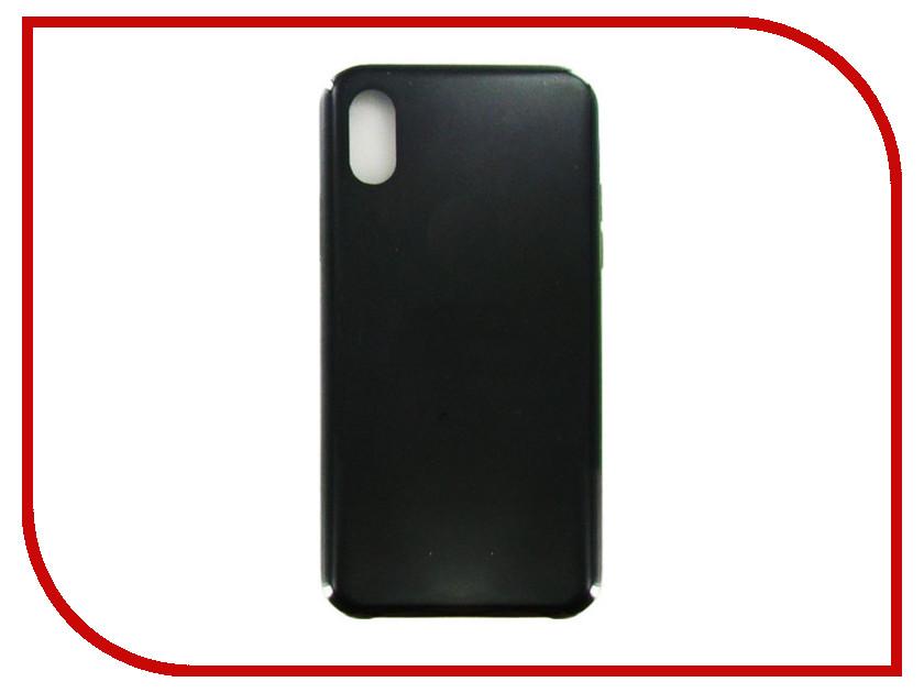 Аксессуар Чехол Krutoff для APPLE iPhone X Silicone Case Black 10807