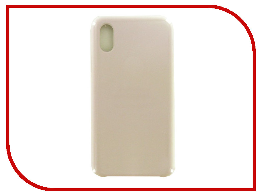 Фото - Аксессуар Чехол Krutoff для APPLE iPhone X Silicone Case Lavander 10809 аксессуар чехол apple iphone x krutoff leather folio taupe 10831