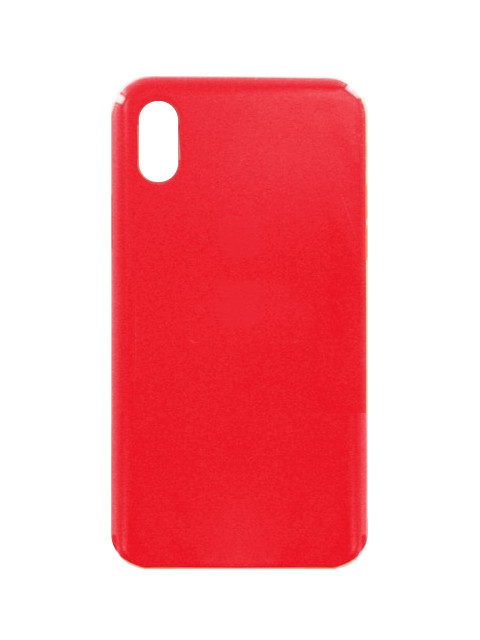 Чехол Krutoff для APPLE iPhone X Silicone Case Red 10818