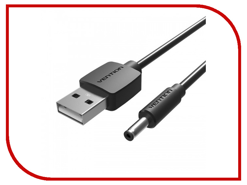 Аксессуар Vention USB AM - DC-jack 3.5/M 80cm VAS-A66-B080 аксессуар vention usb am dc jack 3 5 m 80cm vas a66 b080