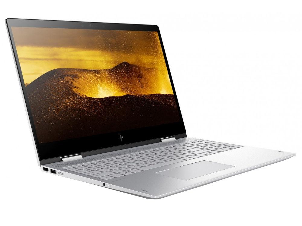 Ноутбук HP Envy x360 15-bp104ur 2PQ27EA (Intel Core i5-8250U 1.6 GHz/8192Mb/1000Gb + 128Gb SSD/nVidia GeForce MX150 4096Mb/Wi-Fi/Cam/15.6/1920x1080/Windows 10 64-bit)